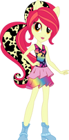 Wild Rainbow Applebloom Vector by Sugar-Loop