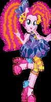 Rockin' Hair Pinkie Pie Vector by Sugar-Loop