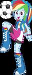 Equestria Girls Rainbow Dash Vector by Sugar-Loop
