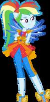 Rainbow Dash Legend of Everfree Vector by Sugar-Loop