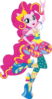 Pinkie Pie Fashion Style Vector by Sugar-Loop