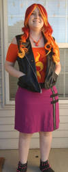 Sunset Shimmer Casual Cosplay by Sugar-Loop