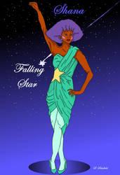 Shana - Falling Star 2nd Pose by sschof32