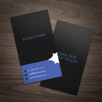 Page Curl Business Card by elemis