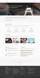 Daylite Free Homepage PSD by elemis