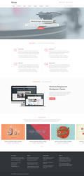 Moose Free Homepage PSD by elemis