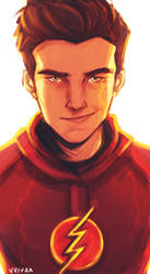 The Flash by vvivaa