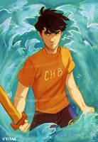 Son of Poseidon by vvivaa
