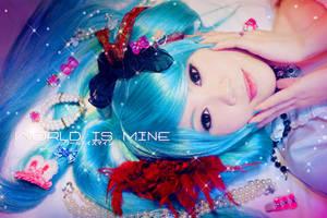 VOCALOID2-world is mine by Sakina666