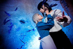 Howl's Moving Castle - Lovers by Sakina666