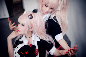 Danganronpa - Despair sisters 02 by Sakina666