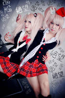 Danganronpa - Despair sisters 04 by Sakina666