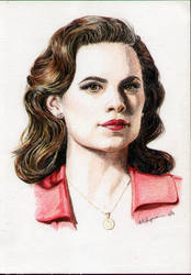 Agent Peggy Carter by TheDoThatGirl