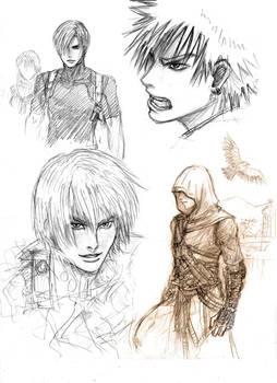 Game Boys sketch by Lizeth