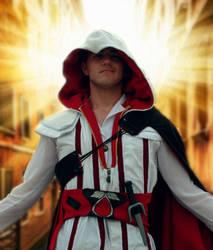 AN2012: Ezio cosplay by Lizeth