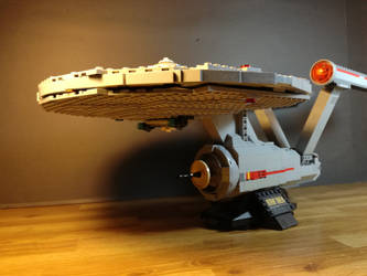 Lego-Mega Bloks U. S. S. Enterprise 2 by claudio10996