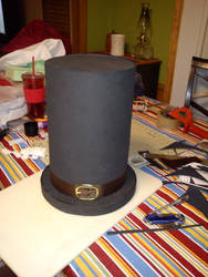 Hatty Hattington Cosplay wip by WolfDeano
