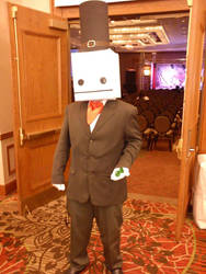 My Hatty Hattington cosplay at Afest Dallas 2013 by WolfDeano