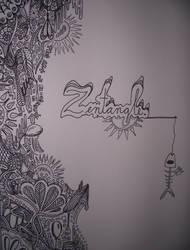 Zentangle by Amanduh-Vroom