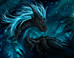 Sapphire charm by TellerySpyro