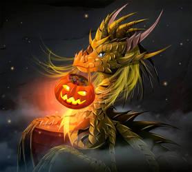 Sweet Halloween with Tenny! by TellerySpyro