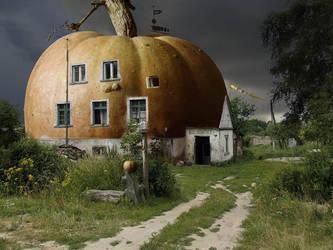 The pumpkin house by Gutalin