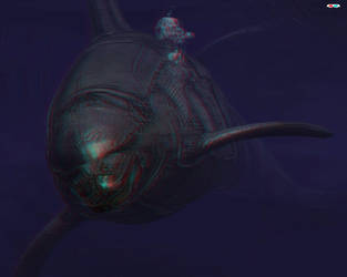 L 69 Dolphin Johns (anaglyph) by Gutalin