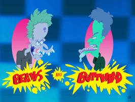 Beavis And Butthead by Chopfe