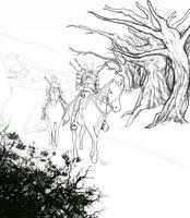 In Progress:The Road into Danger by Mekari
