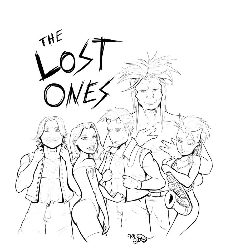 The Lost Ones by Mekari