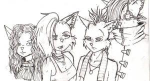 Locos gang sketch by Mekari