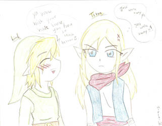Link's hair comment.... by SparxPunx