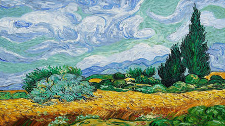 Painting - Field by bulca