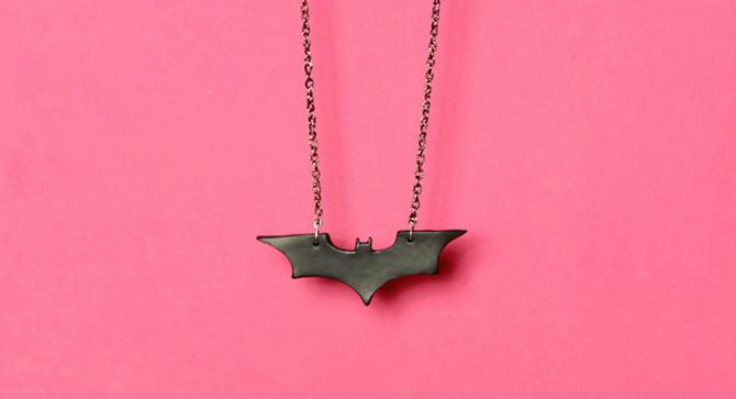 Batman Begins Necklace by designandberries