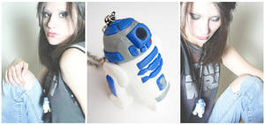Star Wars | r2d2 Necklace by designandberries