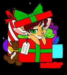 Christmas Nova Chibi *BASE BY LOCKWORKORANGE* by FizzyBoov