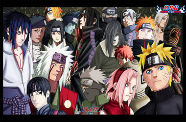 Naruto Cover - Collab MSC - by Desert-F