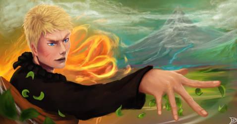 Naruto Fire Will by Desert-F