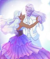 Dance Among the Stars by froggsalt