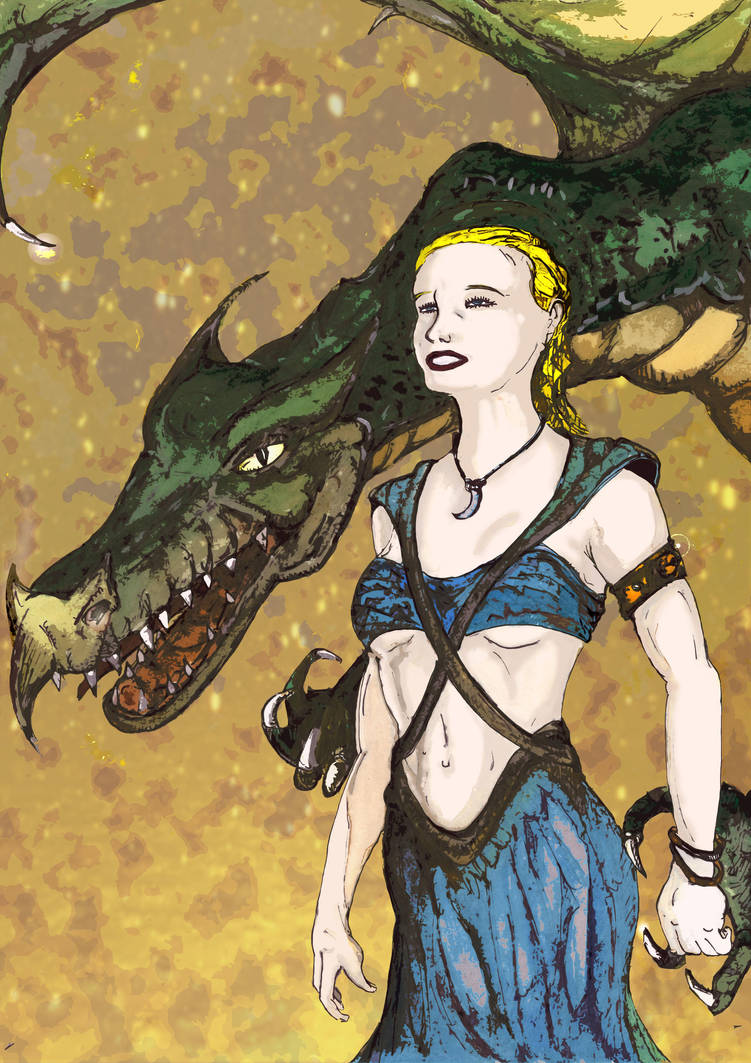 Silvia Saint the mother of DRAGON CR on  fire by Screux