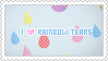 Stamp: I love Rainbow Tears by apparate
