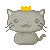 Free Avatar: Kitty (Crown) by apparate