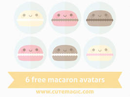 Macaron Avatars by apparate
