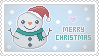 Stamp: Merry Christmas by apparate