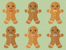 Gingerbread Cookies by apparate
