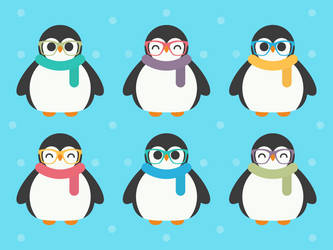 Cool Penguins by apparate