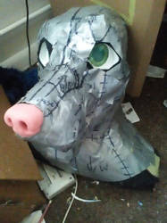 WIP head by CalicoCougar