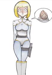.- (OC) - Phara, the Alien Parasyte -. by DisguisedHypnotist