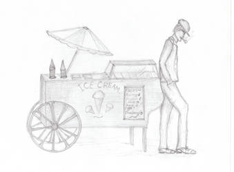 1930s Icecream Cart by Lovefashionxoxo