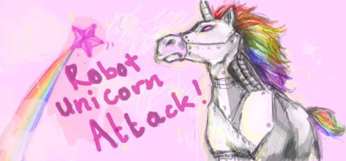 Robot Unicorn Attack by chocolateapollo115